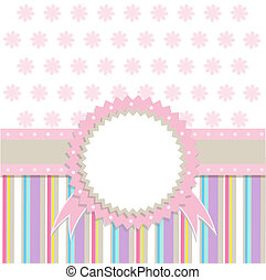 Template greeting card