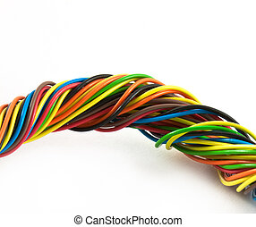 Bundle of color cables
