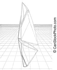 Abstract Constructions Of Sail Vector