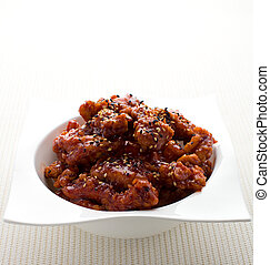 General tso chicken - General tso chinese chicken meal on...