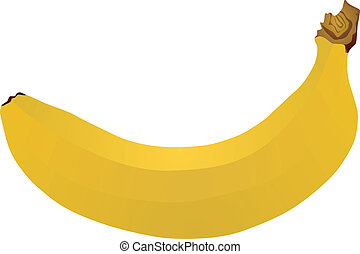 banana - vector image of a banana