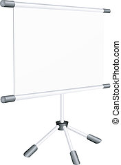 vector illustration of a blank
