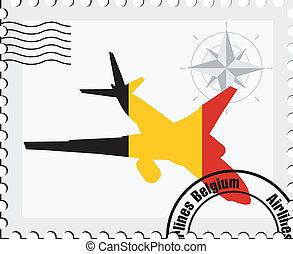 air travel in Belgium