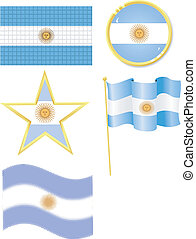 set of national subjects Argentina