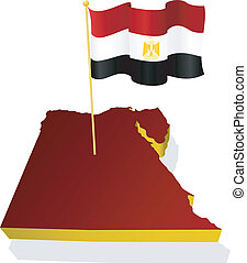image map of Egypt
