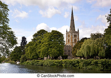 Holy Trinity Church - Holy Tinity Church, Stratford -...