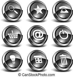 3D Web Icons