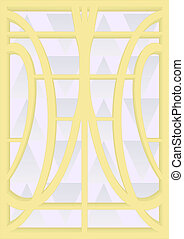 7. Stained-glass windows.