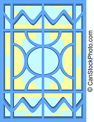 6. Stained-glass windows.