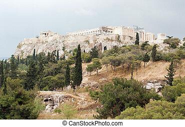 Parthenon on Acropolis of Athens, Greece