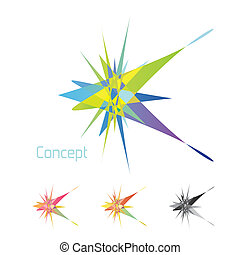 concept - Abstract conceptual symbol for your design....