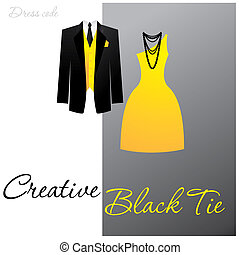 creative-black-tie - Dress code - Creative Black Tie The man...