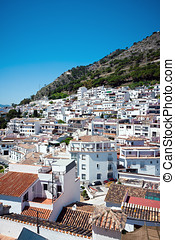 Mijas Village in Spain - Beautiful Mijas Pueblo architecture...
