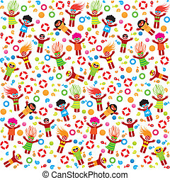 summer-pattern-beach - Pattern - summer vacation on the...