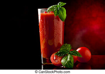 Tomato Juice- Bloody Mary Cocktail - photo of delicious...