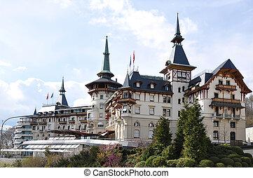 hotel, luxuoso, Zurique