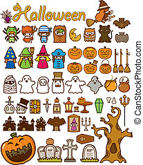 Halloween Holiday Design Element - Illustration of Halloween...