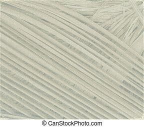 grey textured coconut leaf background with light grunge...