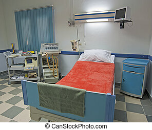 ICU ward in a medical center - Intensive care ward in a...