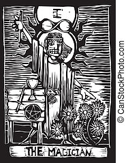 The Magician - the magician is the second image in a tarot...