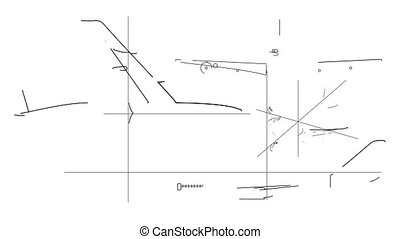 Aircraft Technical Drawing