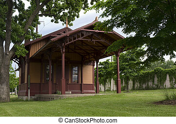 Minnehaha Depot Museum - Restored Minnehaha Depot formerly...