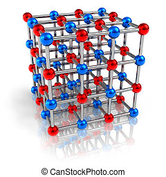 Molecular structure model - Model of molecular structure...