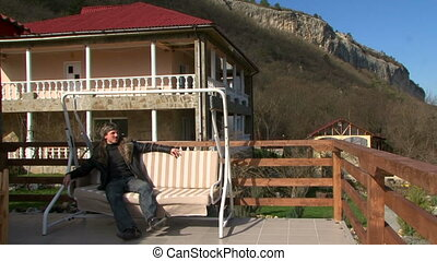 Holidays in the mountain resort