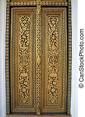 Closeup Detail - Royal Palace, Phnom Penh, Cambodia