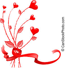 red-heart-flowers