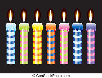 vector candles