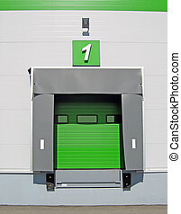 Truck discharge terminal - Terminal for truck loading or...