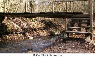 Go over the bridge