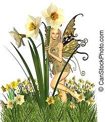 Daffodil Fairy - 2