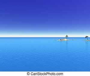 Tropical Ocean Islands