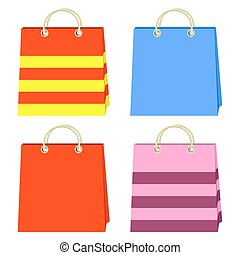 Color bags.