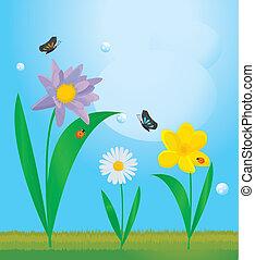 summer floral design