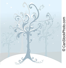 tree xmas background