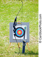 Target archery equipment