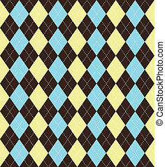Argyle pattern - Seamless tile argyle background