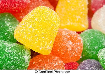 咀嚼, 糖果