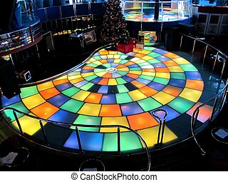 Dance floor on cruise ship - Cruise ship