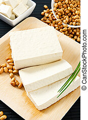Tofu and Soybeans - Soybeans and tofu are a good souce of...