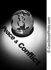 和平, 衝突,  &
