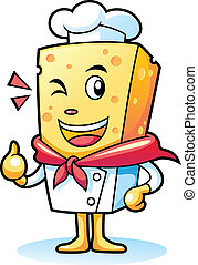 Chef Cheese - professional chef cheese give a thumb