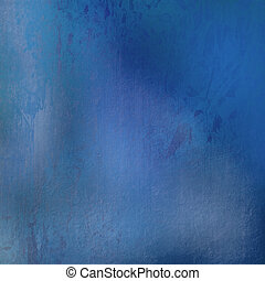 grunge blue stained textured background with text space