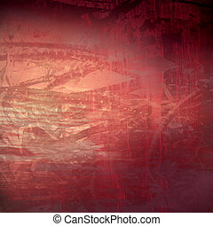organic technology grunge red textured abstract - Grunge red...