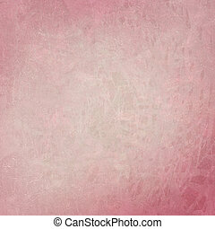 Pink abstract on cracked textured background - Pink abstract...