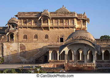 Nagaurs palace in Rajasthan - Nothern hall of Nagaurs palace...