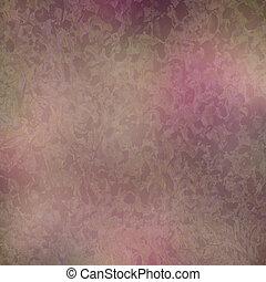 Wine pink water-leaf print on paper - Wine pink water-leaf...